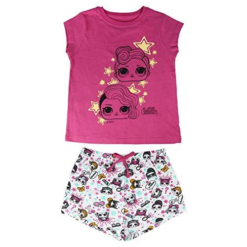Cerdá Pijama Brilla en Oscuridad de Muñecas LOL Surpirse, Rosa, 8 años para Niñas