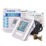 HJUNH Strumento elettronico Automatico di Pressione sanguigna per Gli Anziani per misurare l'accuratezza dell'ipertensione