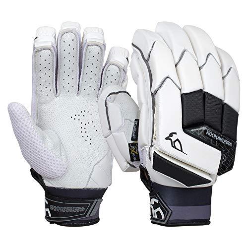 KOOKABURRA Batting Gloves 2020 Shadow Pro-Guantes de bateo (Talla Grande, Unisex Adulto, Blanco, Over Sized Adult Left Hand