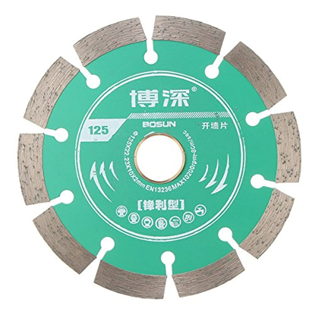 素晴らしいです比喩何十人もQueenwind 125mm の合金は具体的な大理石の石工およびタイルのための刃の車輪の切断の Diac を見た