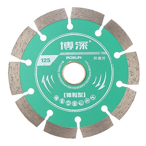Ils - 125 mm legering zagen blad wiel snijden diac voor beton marmer metselwerk en tegels