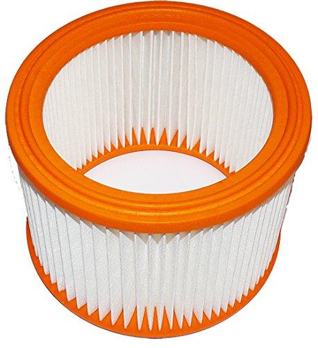 Lamellenfilter R 635/2 Nilfisk Alto Attix 50-2M PC, Nilfisk Alto Attix 550-21, 590-21, Nilfisk Alto Attix 751-11, 751-21, Nilfisk Alto Attix 751-2M, 791-21 EC, Nilfisk Alto Attix 791-21 EC, Protool 625324, VCP 260 E-L, Protool VCP 260 E-M, PES Filter, Absolutfilter