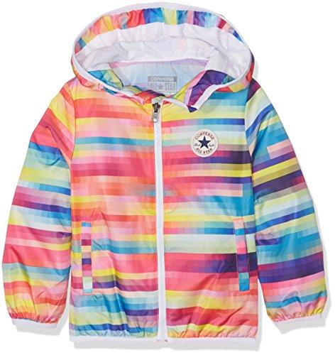 Converse Mädchen Full Zip Packable Jacket Jogginganzug, Mehrfarbig (Gradient A4J), 9-10 (Hersteller Größe:8-10 Jahre)