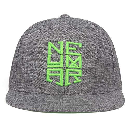 CHENGWJ Baseball Kappe Mode Brasilien Neymar Mütze Männer Hut Trucker Mütze Stickerei Frauen Hut Baseball Mütze Für Männer Frauen Mützen