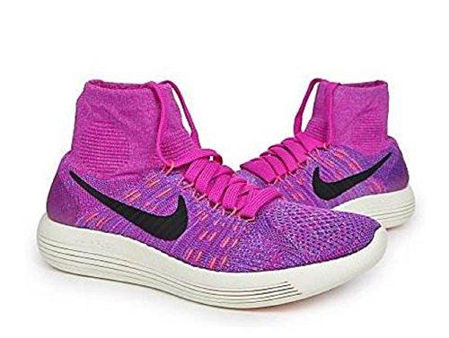 Nike 818677-503, Scarpe da Trail Running Donna, Viola/Pesca/Rosa (Morado Purple Dynasty Peach Cream Fire Pink), 42 EU