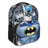Artesania Cerda Mochila Escolar 3d Batman Zaino, 41 cm, Grigio (Gris)