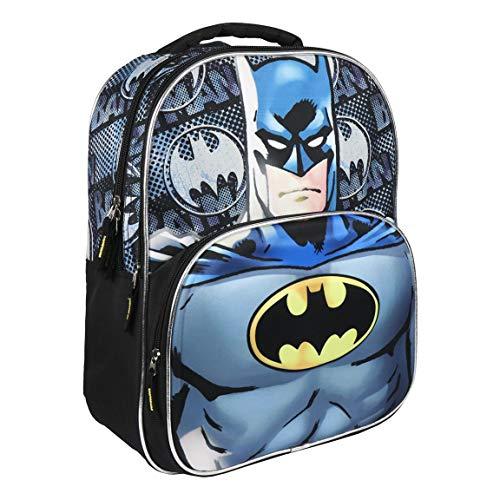 ARTESANIA CERDA Mochila Escolar 3D Batman, Gris
