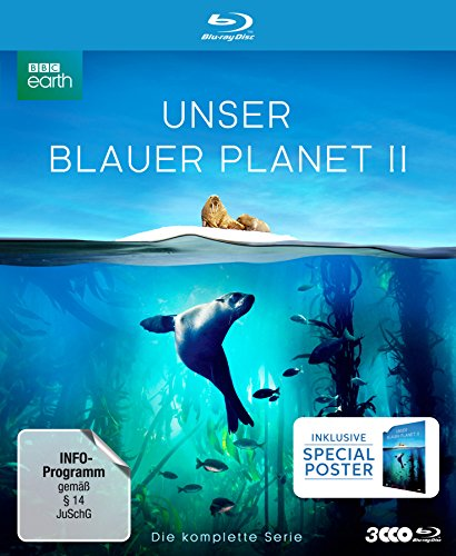 Unser Blauer Planet II (Amazon Exklusiv-Version mit Poster) (Limited Collector's Edition) [Blu-ray]