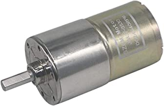 Motore Esterno di Riduzione dellingranaggio Elettrico di Coppia Elevata di CC 12V 15~200RPM Diametro Esterno 20mm 0.78 100RPM