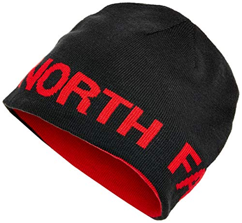The North Face Reversible TNF Banner Beanie - TNF Black & TNF Red - OS