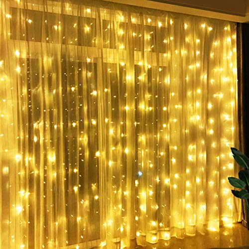 Lights Greenke LED Twinkle Lights with Remote Bedroom Decorations USB Fairy Lights for Room Party Lights Indoor Home Lights Living Room Decor - Warm White