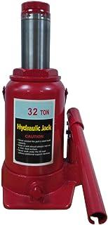 2 Ton Hydraulic Bottle Jack Hoist Stubby Low Profile Lift Automotive Shop Equipment Car Truck Heavy Duty Red