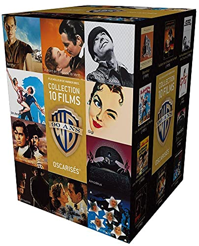 90 ans Warner - Coffret 10 films - Oscars + 1 magnet collector « Casablanca » offert