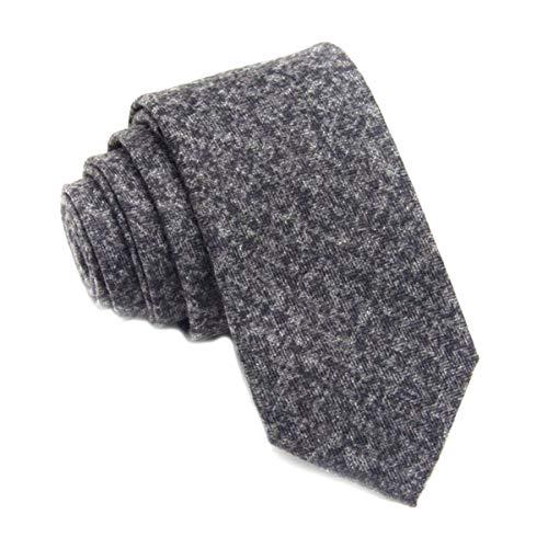 LiDianFuu Wollkrawatte dünne 6 cm Blumenkrawatten Hohe karierte Krawatte für Männer nehmen Cravat Krawatten Herren 18