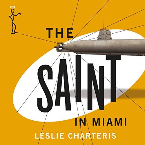 The Saint in Miami audiobook cover art
