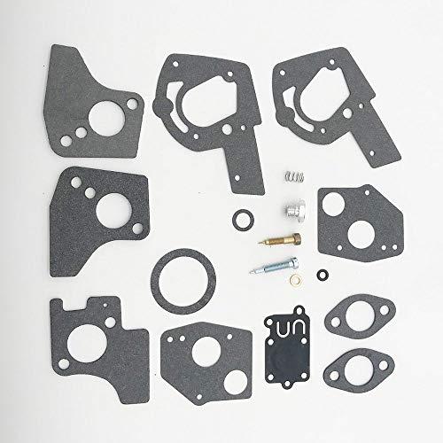 Kit de almohadilla de carburador, Kit de reconstrucción de reparación de carburador 495606 494624 Partes de herramientas al aire libre de 3HP-5HP Partes fáciles de instalar y duraderas LUZ Y DUARBLE