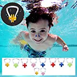 BEZZEE PRO Nose Clips - Pack of 10 Silicone Swimming Nose Plug