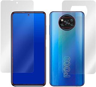 ミヤビックス Xiaomi POCO X3 Pro 表面・背面セット 用 曲面対応 TPUフィルム 傷修復 衝撃吸収 液晶・背面保護フィルム セット OverLay FLEX OFPOCOX3PRO/S/12