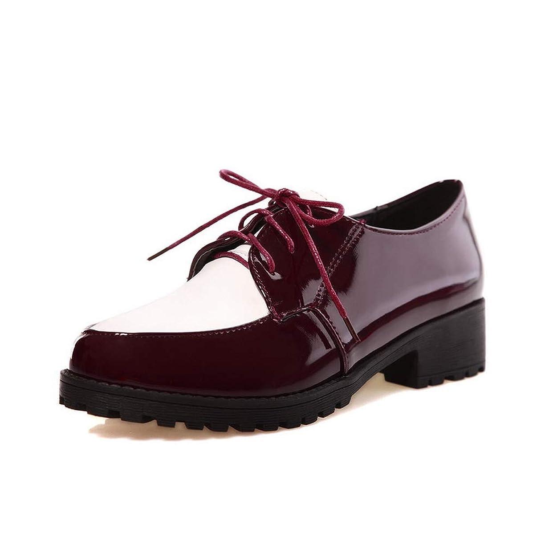 リスト靴マニアック[AdeeSu] オックスフォード雑色純色ロートップウィメンズ SDC06495