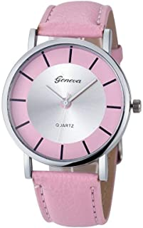 Geneva Casual Watch For Women Analog Leather