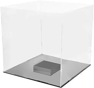Prettyia Acrylic Showcase Home Collectibles Basketball Protection Cube Case