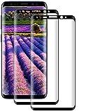 DOSMUNG Cristal Templado para Samsung Galaxy S8 Plus, [2 Pack] Protector de Pantalla para Samsung Galaxy S8 Plus, 9H Dureza,Vidrio Templado, Anti-rasguños, Sin Burbujas
