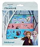 Undercover FRUW0032 - Juego de pegatinas grandes, diseño de Frozen II, multicolor