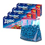 Ziploc Gallon Food Storage Slider Bags, Power Shield Technology for More Durability, 26 Count, Pack...