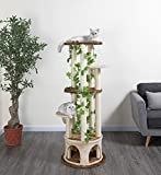Go Pet Club F2093 Cat Tree Furniture, 61-Inch
