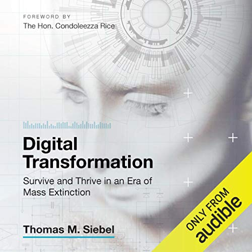 Digital Transformation audiobook cover art