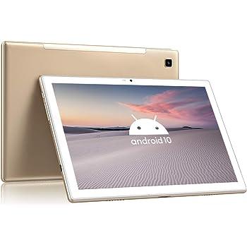 Blackview Tab8 Tablet 4G LTE + WIFI con 10.1'' FHD, Android 10, 4GB RAM + 64GB ROM, 128GB Espandibili, Octa-Core, Batteria 6580mAh, Fotocamera 13MP, 1920*1200, Dual SIM/GPS/Bluetooth/Face ID/OTG-Oro