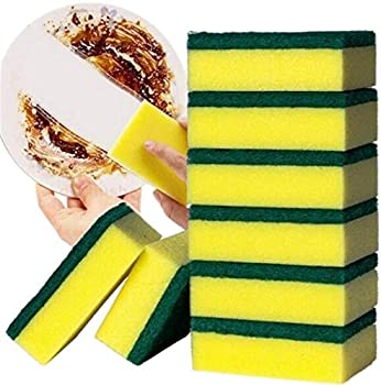 10-Piece Supriqlo Double Layer Water Absorption Dish Washing Sponges