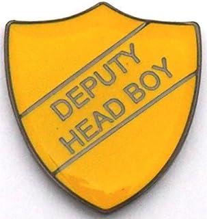 Badge Deputy Head Boy avec expédition gratuite (Jaune)