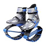 Seakyland Unisex Fitness Jump Boots Bounce Shoes for Kids Youth