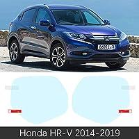 ホンダ HR-V Vezel 2014 ? 2019 フルカバーアンチフォグフィルムバックミラーカーアクセサリーステッカー HRV HR V 2015 2016 2017 2018-HR-V 2014-2019