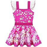 Lito Angels Disfraz de Mia and Me para niñas Vestido de Hadas de Halloween de fiesta de cumpleaños Talla 7 a 8 años Mia