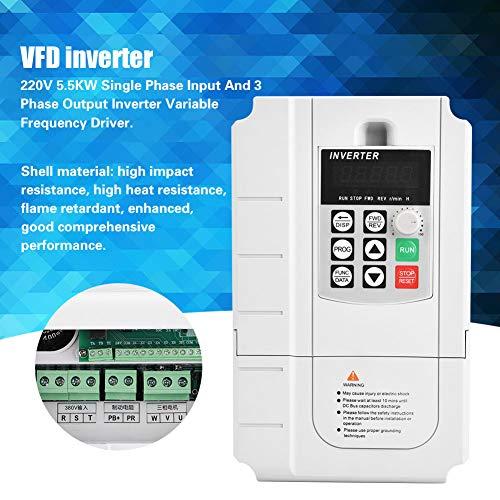 Control VFD del controlador de frecuencia variable AC380V de