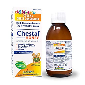 Boiron Children s Chestal Honey Cough Syrup 6.7 Ounce Homeopathic Medicine for Cough and Chest Congestion