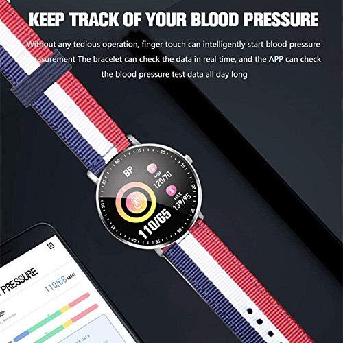 Smart Watch Bluetooth Smart Sports pulsera reloj inteligente digital presión arterial ritmo cardíaco con preocupaciones de fitness iOS Android 5.0