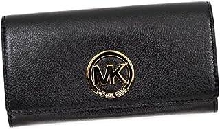 (マイケルコース) MICHAEL KORS CARRYALL 長札入財布 #32F2GFTE3L 001 BLACK 並行輸入品
