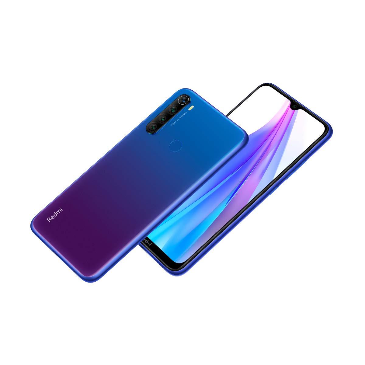 Xiaomi Redmi Note 8T 64+4GB Color Azul, NFC, Bateria 4000mAh ...