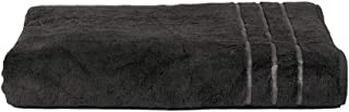 Cariloha 600 GSM Bamboo & Turkish Cotton Bath Towel - Odor Resistant, Highly Absorbent - Includes 1 Towel - Graphite