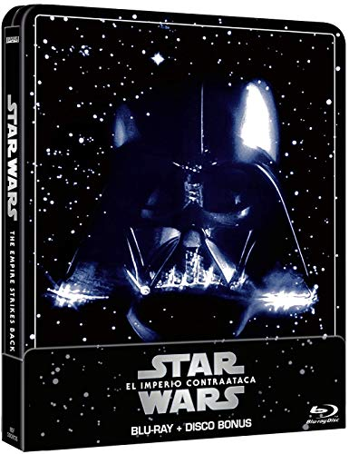 Star Wars Ep. V: El imperio contraataca (Edición remasterizada) - Steelbook 2 discos (Película + Extras) [Blu-ray]