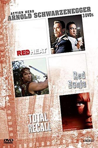 Arnold Schwarzenegger - Action Hero: Red Heat / Red Sonja / Total Recall [3 DVDs]