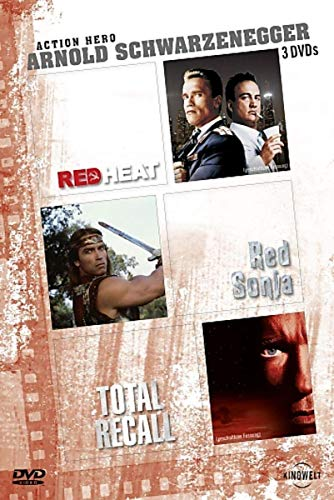 Arnold Schwarzenegger - Action Hero: Red Heat / Red Sonja / Total Recall [3 DVDs]
