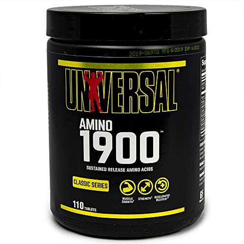 Universal Nutrition Amino 1900 Capsules Pack of 110