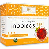 Best Rooibos Teas - Rooibos Tea Organic Herbal Tea - 80 Bags Review