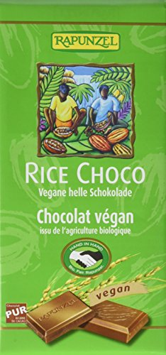 Rapunzel Rice Choco vegane helle Schokolade HIH, 100 g