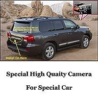 QWERQF 車のカメラ高品質リアビューバックカメラトヨタランドクルーザーLC 200 LC200 2008〜2014