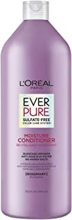 L'Oreal Paris EverPure Moisture Sulfate Free Conditioner for Color-Treated Hair, Rosemary, 33.8 Fl; Oz